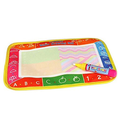 aqua-doodle-mat-forthery-water-drawing-mat-painting-writing-doodle-board-toy-magic-pens-for-baby-kid