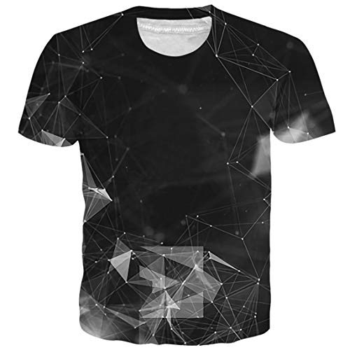 3D Printed T Shirts I Love You Casual Mens Hipster Top Tees