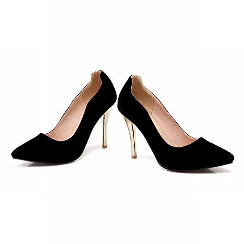 MissSaSa Damen elegant high heel Pointed toe Pumps/Brautschuhe Schwarz