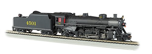 Bachmann Industries Trains Usra Light 2-8-2 Dcc Ready Southern #4501 With Long Tender Ho Scale Steam Locomotive