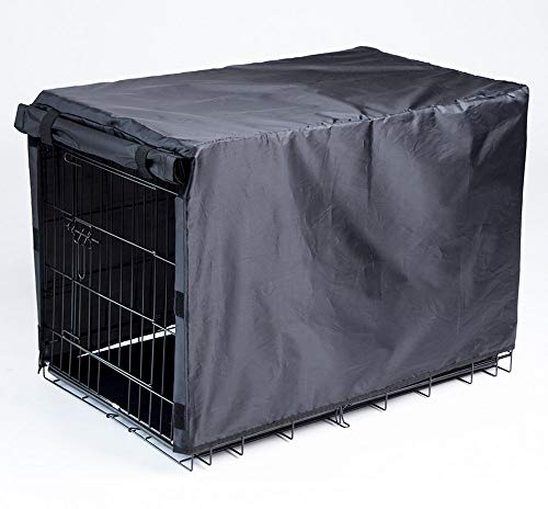 BH Dog Crate Cover for Large Dogs-Crate Cover for Wire Crates (42-inch) ()