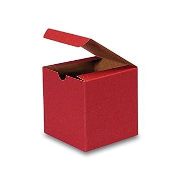 """Amazon.com: Cartón Kraft Colored Cajas de regalo 6"""" x ..."""