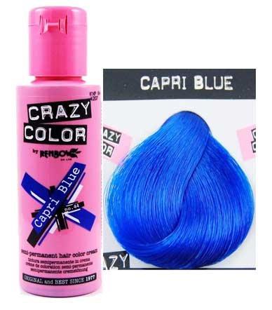 Amazon Renbow 2 X Crazy Colour Semi Permanent Hair Dyes 100ml