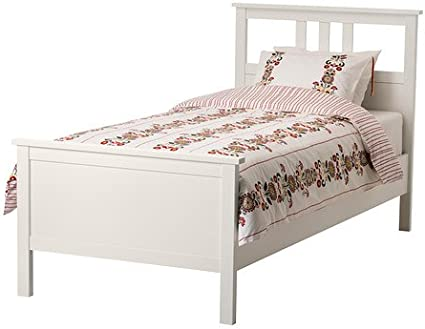 IKEA HEMNES – Estructura de cama, blanco mancha – Standard ...