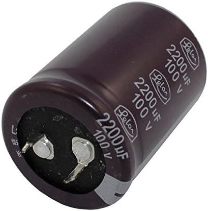 2x Chimique Condensateur 2200/µF 100V 105/°C ; LSG222M2A3040P ; 2200uF