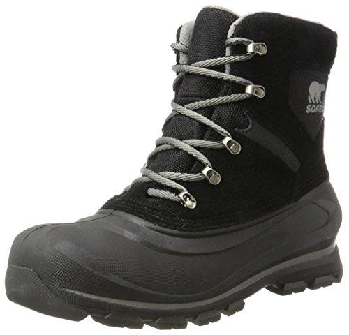 SOREL Men's Buxton LACE Snow Boot, Black, Quarry, 11 D US