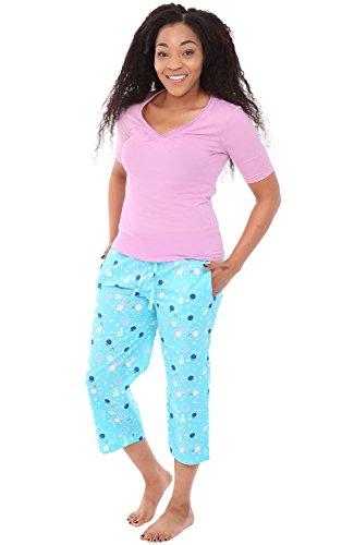 bf8cc0ed2 Alexander Del Rossa Womens 100% Cotton Pajamas