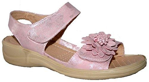 Cushion Walk , Peep-Toe femme - rose - rose,