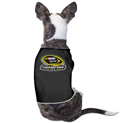 Jimmie Johnson New Era Blue 2016 Sprint Cup Champion Winter Dog Hoodies For Small - Sprint Cup