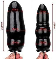 Juguetes sexuales pareja-Enchufe de consolador anal inflable ...