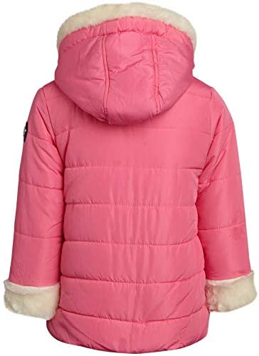 Jessica Simpson Baby Girls' 2-Piece Snowsuit with Snow Bib Pants and Puffer Jacket (Infants and Toddler Girls)