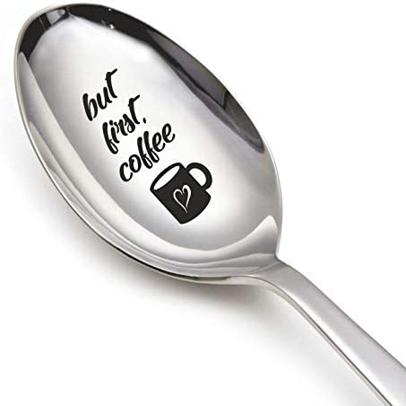 Coffee Spoon Life Is All Rainbows /& Unicorns Unicorn Gift Unicorn Lover Stamped Spoon Gift for Family Tea Spoon Gift for Friend