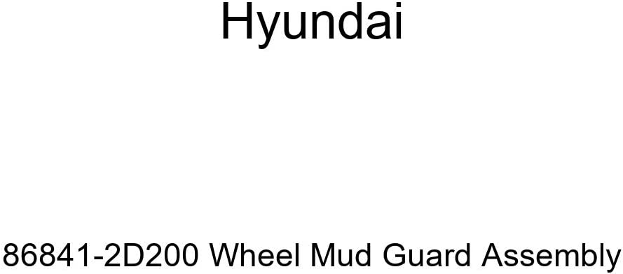 Genuine Hyundai 86841-2D200 Wheel Mud Guard Assembly