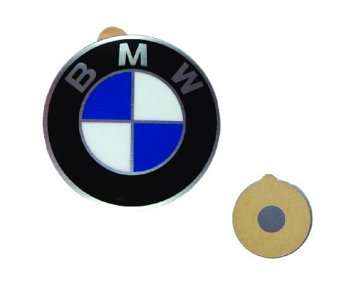 Cap Decal Sticker (BMW Genuine Wheel Center Cap Emblem Decal Sticker Insignia Stamped 64.5mm)