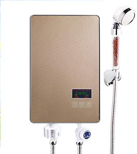 1yess Elektro-Instant-Durchlauferhitzer, Intelligent Durchlauferhitzer Badezimmer Hot Dusche Heizung