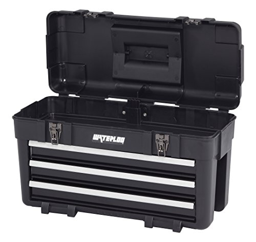 waterloo tool box waterloo 23 quot specialty series tool box with 3 drawers 28920