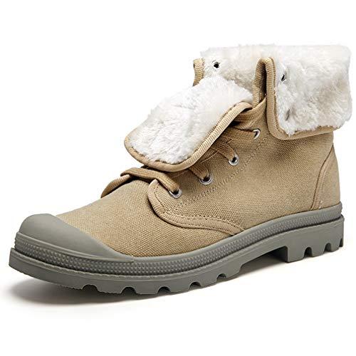 High Casual Donna Cotone Shoes Scarpe Caldo Up Lace Tooling top Da Yan  All aperto Canvas Inverno In ... c562477e1bd