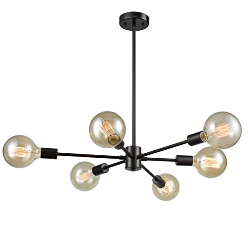 6 Light Ceiling Pendant in Florida - 5