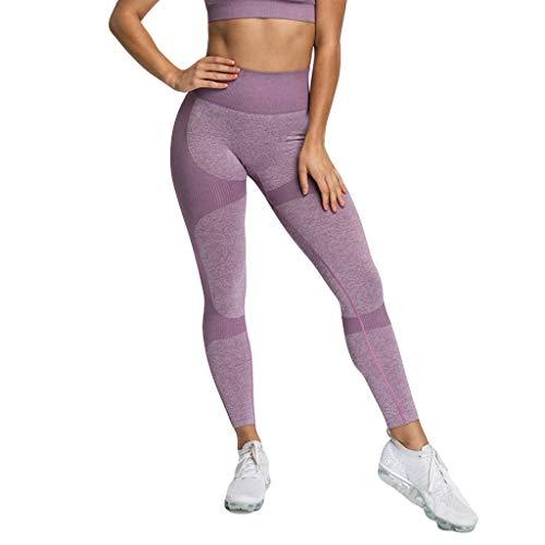 (FIRERO Women's Seamless Hip-up Hygroscopic Sports Pants Hip Yoga Pants)