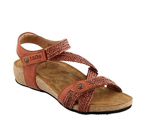(Taos Footwear Footwear Women's Trulie Brick Sandal 9-9.5 M US)