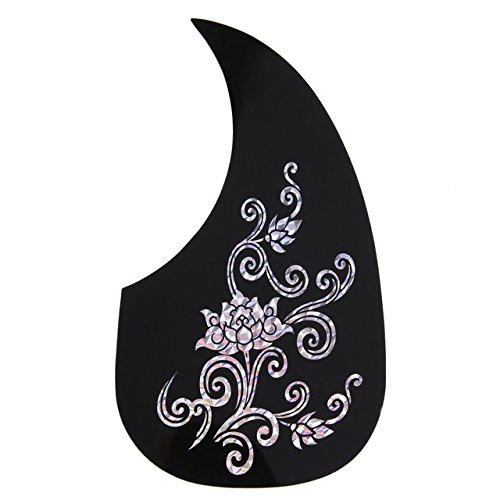 - MOJITO LIVING 1751052mm Guitar Pickguard Gold Sliver Phoenix/Dragon/Flower Pattern Acoustic Guitar Pickguard Pick Guard High Durable