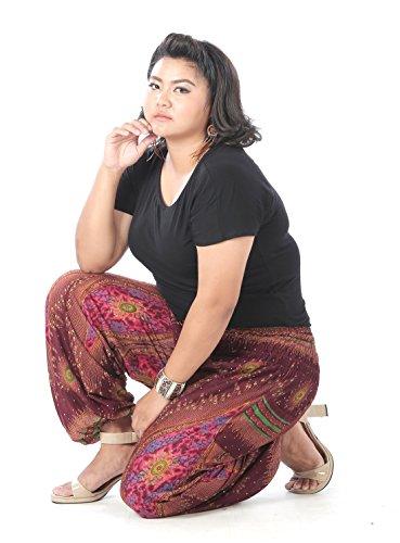 CandyHusky - Pantalón - para mujer Morado Oscuro