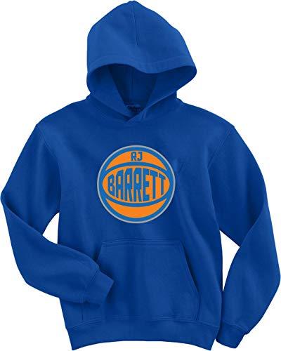 (Blue New York Barrett Alternate Logo Hooded Sweatshirt Adult )