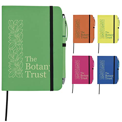 Good Value Neon Journal with Neon Stylus Highlighter-Pen Neon Pink 50 Pack
