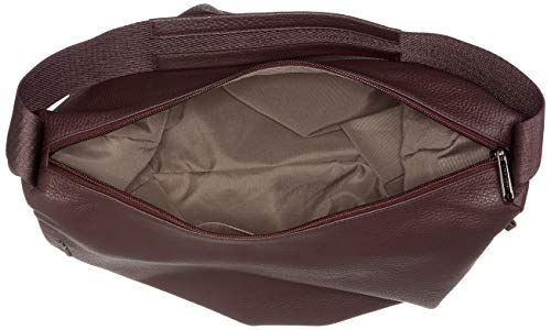 Leather De Mujer Wine Mellow Tracolla Mandarina vineyard Hombro Violett Duck Bolso 4xAfHw