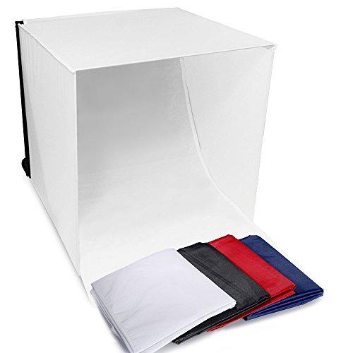 Selens 16'' x 16'' Table Top Portable Folding Lighting Box Light Tent for Photo Photography Studio by Selens