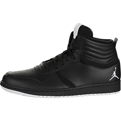 Nike Mens Heritage Black White Synthetic Trainers 45.5 EU
