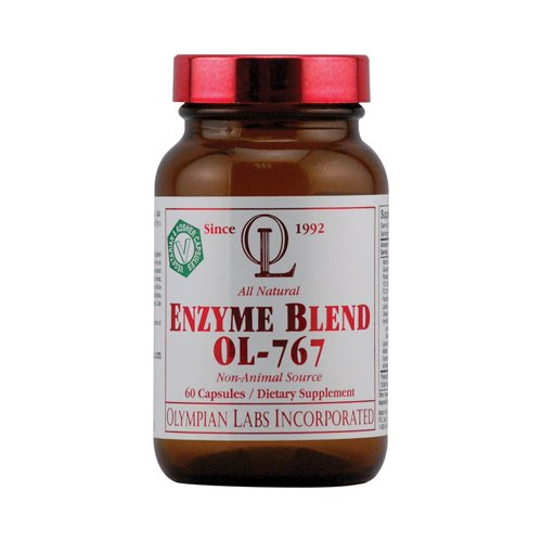 Olympian Labs Enzyme Blend OL-767 - 60 capsules - Olympian Labs