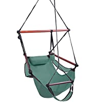 Teeker Well-Equipped S-Shaped Hook High Strength Assembled Hanging Seat Cacolet (Green)