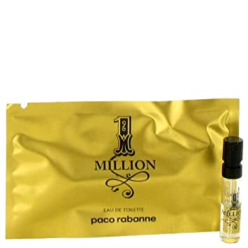 Amazon.com : 1 Million by Paco Rabanne Vial (sample) .03 oz (Men ...