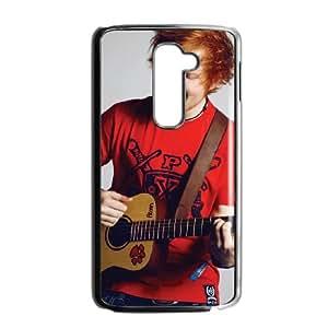 LG G2 Cell Phone Case Black Ed Sheeran DIY Plastic Cell Phone Case QSJ
