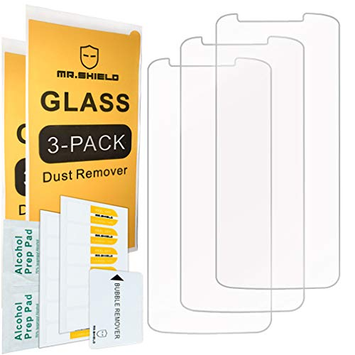 [3-Pack]- Mr.Shield for Motorola (Moto E5 Supra) [Tempered Glass] Screen Protector [Japan Glass with 9H Hardness] with Lifetime Replacement