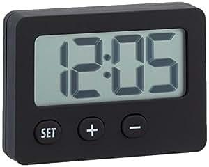 TFA Dostmann 60.2013.01 - Reloj de suelo, color negro
