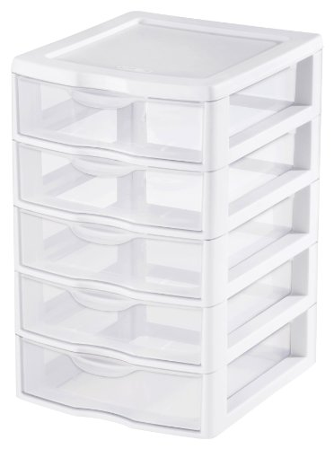 sterilite-2194-1570-5-drawer-clear-view-storage-unit