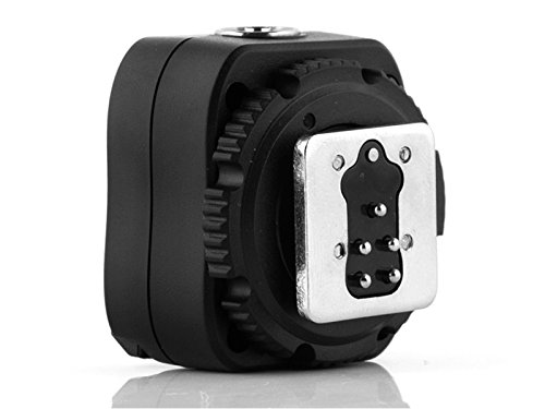 Pixel e-TTL Flash Hot Shoe Adapter with Extra PC Sync Port for Canon DSLRs and Flashguns