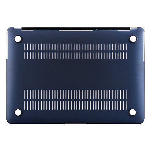 MOSISO Plastic Hard Shell Case & Keyboard Cover Compatible MacBook Air 11 Inch (Models: A1370 & A1465), Navy Blue by MOSISO (Image #6)