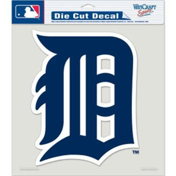 Detroit Tigers Decals (MLB Detroit Tigers 79920010 Perfect Cut Color Decal, 8