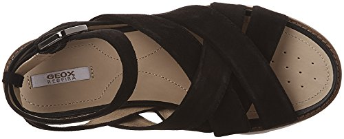 Geox Dames D Darline B Ankle Zwart (blackc9999)
