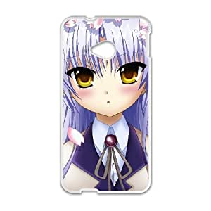 HTC One M7 Cell Phone Case Covers White Angel Beats Yoomd