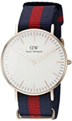 Daniel Wellington Women's 0501DW Oxford Analog Display Quartz Multi-Color Watch