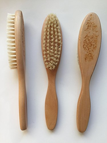 Natural Bristle Wooden Handle Pedicure
