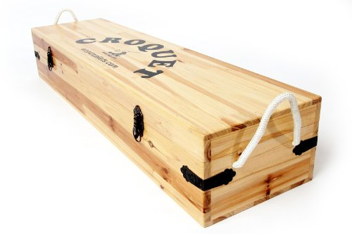 Replacement Spare Box for Wood Mallets Croquet Sets by Wood Mallets