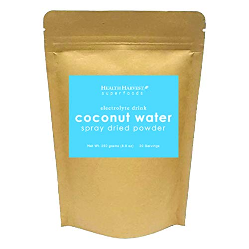 Coconut Water Powder   Natural Electrolyte Drink   Spray Dried   100% Water Soluble   Vegan Food   Gluten Free   Non-GMO   Chemical Free   No Sugar Added