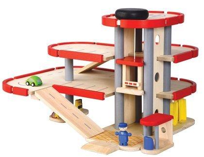 Plan Toys Crane (Plan Toys City Series Parking)