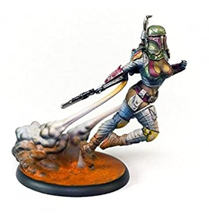 Amazon com: Science Fiction Miniatures 75mm Kabuki Models Vixen