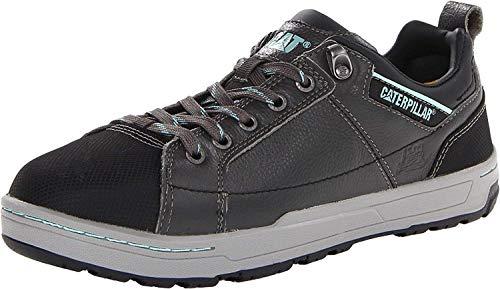Caterpillar Women's Brode Steel Toe Work Shoe,Dark Grey,7.5 M US